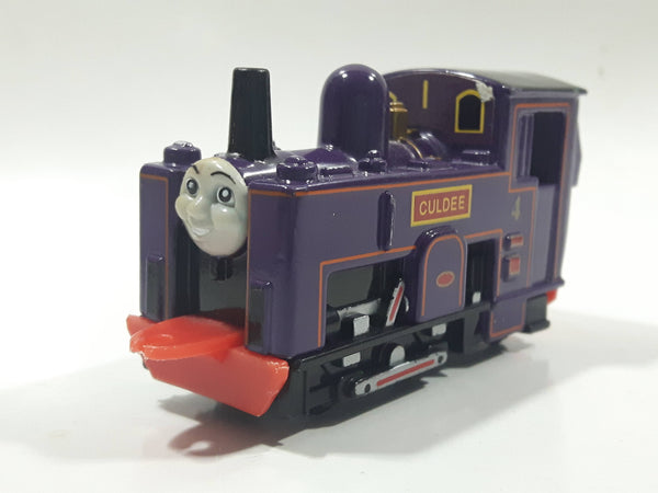 1995 ERTL Britt Allcroft Thomas The Tank Engine & Friends Culdee Purple Train Engine Locomotive Car Die Cast Toy Vehicle