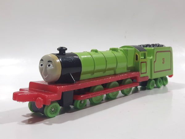 1987 ERTL Britt Allcroft Thomas The Tank Engine & Friends #3 Henry Green Train Engine Locomotive Car Die Cast Toy Vehicle