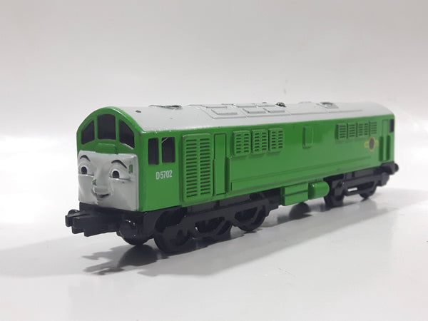 1993 ERTL Britt Allcroft Thomas The Tank Engine & Friends D5702 Green Diesel Train Engine Locomotive Car Die Cast Toy Vehicle