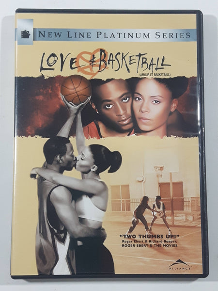 2000 Love & Basketball New Line Platinum Series DVD Movie Film Disc - USED