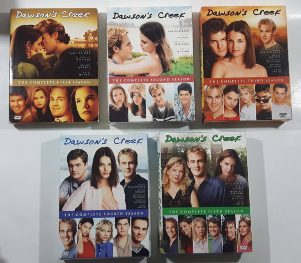 Dawson's Creek Season 1 2 3 4 5 DVD TV Series Disc Sets - USED