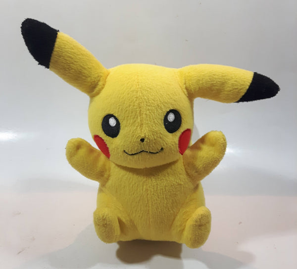 "2015 Nintendo Tomy Pokemon Pikachu 8 1/2"" Tall Stuffed Plush Character"