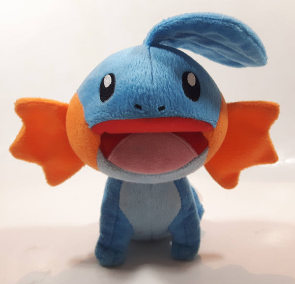 "2015 Nintendo Tomy Pokemon Mudkip 9"" Tall Stuffed Plush Character"