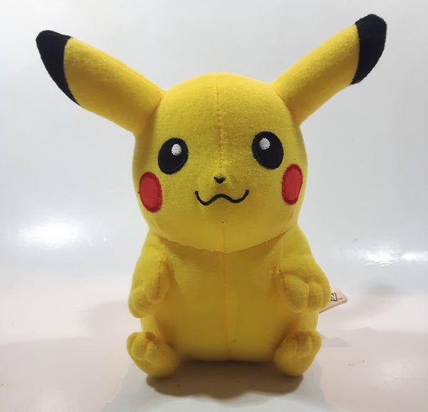 "2016 Toy Factory Nintendo Pokemon Pikachu 8"" Tall Stuffed Plush Character"