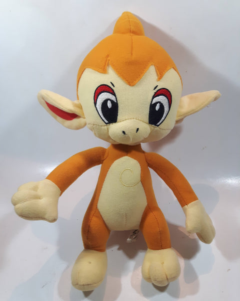 "2008 Toy Factory Nintendo Pokemon Chimchar 13"" Tall Stuffed Plush Character"