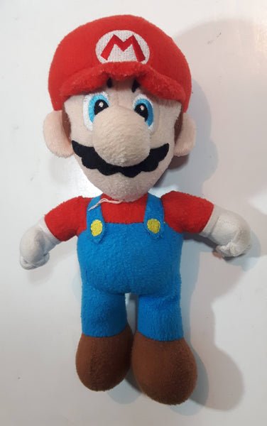 "Nintendo Super Mario Bros Wii Mario 9"" Tall Stuffed Plush Character No Tags"