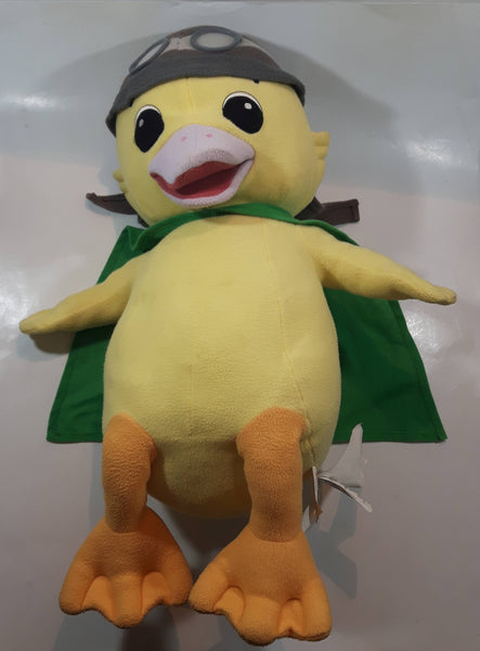 "2008 Viacom Nickelodeon Jr Wonder Pets Ming Ming Duckling Character Large 24"" Tall Stuffed Plush Toy Cartoon Character"