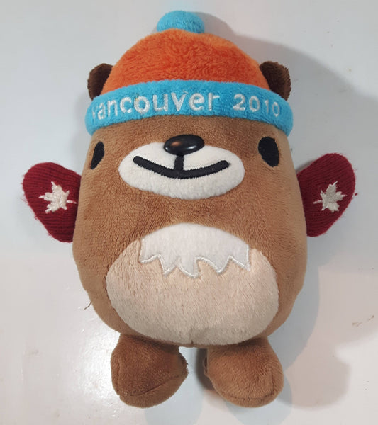 "2010 Northern Gifts Vancouver Winter Olympics Mukmuk 7"" Tall Stuffed Plush Toy Mascot Character"