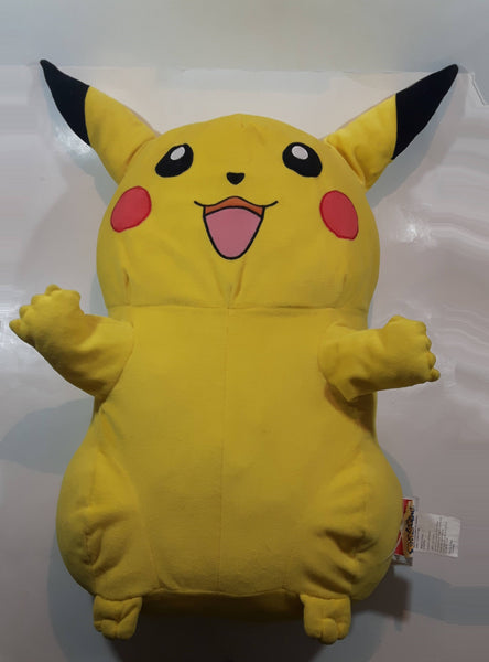 "2007 Nintendo Pokemon Pikachu Large 25"" Tall Stuffed Plush Character"