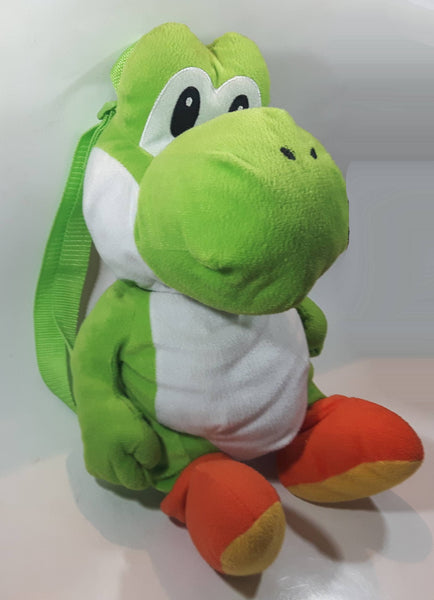 "Nintendo Yoshi Backpack Bag 17"" Tall Toy Stuffed Animal Plush Video Game Character Toy"