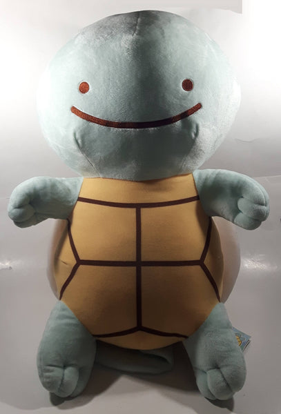 "Nintendo Pokemon Squirtle Large 22"" Tall Toy Stuffed Plush Cartoon Character with Tags"