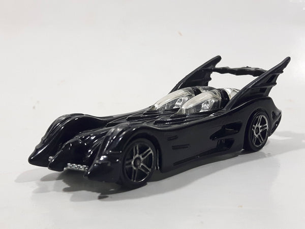 2004 Hot Wheels Batman DC Comics Infinity Batmobile Black Die Cast Toy Car Vehicle - s03 Chrome PR5