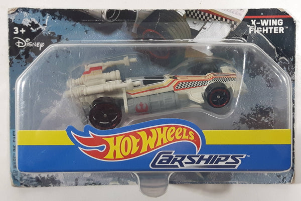 2017 Hot Wheels Carships Disney Star Wars X-Wing Fighter Die Cast Toy Car Vehicle