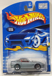 2000 Hot Wheels Ferrari 550 Maranello Metalflake Grey Die Cast Toy Car Vehicle New in Package