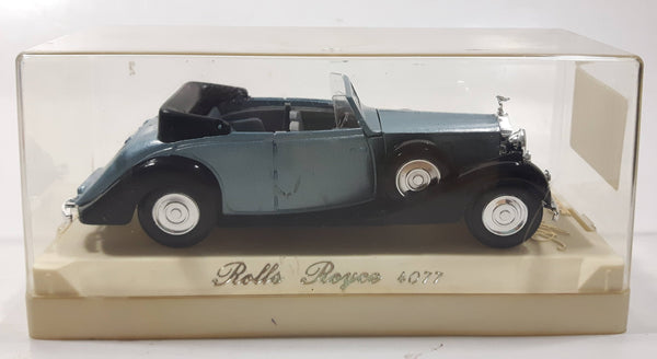 Solido Age D'Or 1939 Rolls Royce Phantom III Cabriolet #4077 Die Cast Toy Model Classic Car Vehicle in Display Case