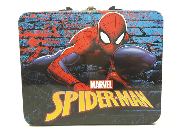 Marvel Spider-Man Tin Metal Lunch Box
