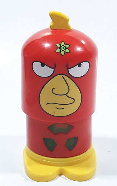 2013 Burger King Fox Matt Groening The Simpsons Radioactive Man Toy Figure Lights Up