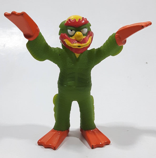 2002 Burger King Creepy Classics Matt Groening's The Simpsons Willy The Swamp Monster From Lake Springfield Toy Figure