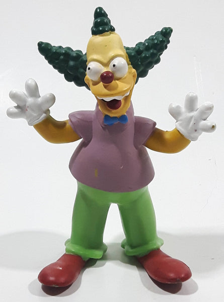"2007 Fox Matt Groening's The Simpsons Krusty The Clown 3/34"" Tall Toy Cartoon Character Figure"