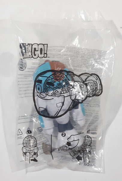 2015 Burger King Teen Titans Go! Cyborg Character Toy New in Package
