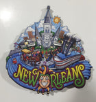 "New Orleans, Louisiana Large 3 3/4"" x 4"" PVC Fridge Magnet"