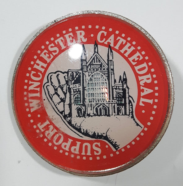 "Support Winchester Cathedral 1"" Diameter Lapel Pin"