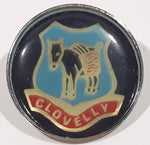 "Clovelly Donkey Jackass Pack Mule Themed 1"" Diameter Lapel Pin"