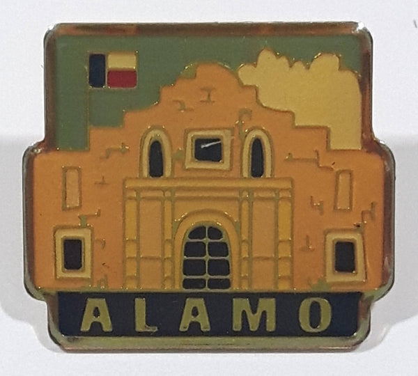 "Alamo 7/8"" x 1"" Enamel Metal Lapel Pin"