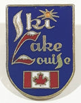 "Ski Lake Louise 3/4"" x 1"" Enamel Metal Lapel Pin"