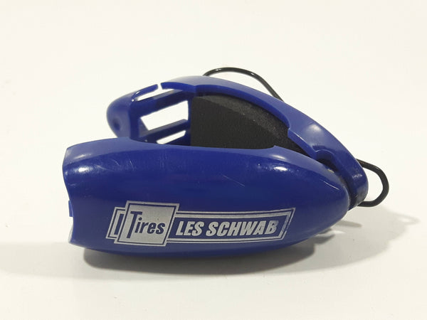 Les Schwab Tires Blue Plastic and Foam Clip Promotional Advertising Product