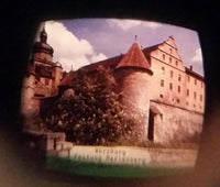 Plastiskop Würzburg Bavaria Germany Green Plastic Picture Viewer Television Toy - Treasure Valley Antiques & Collectibles