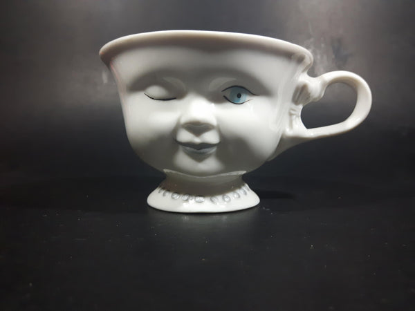 Vintage Helen Hunt Winking Bailey's Promo Teacup Mug - Treasure Valley Antiques & Collectibles