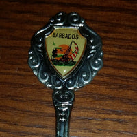 Vintage Barbados Collectible Spoon - Treasure Valley Antiques & Collectibles