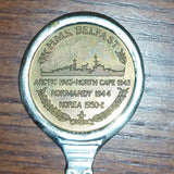 Vintage H.M.S. Belfast Museum Collectible Spoon - Treasure Valley Antiques & Collectibles