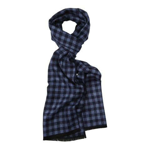 "Schal ""Checker Blue"""