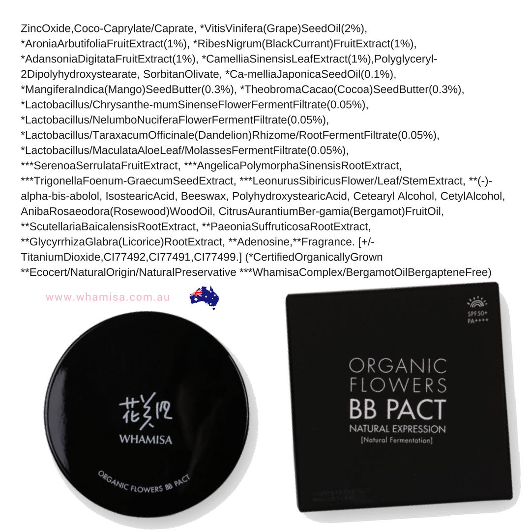 Image result for Whamisa Organic BB PACT