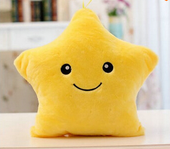 Led Light Pillow, Luminous Pillow Christmas Toys, Plush Pillow, Hot Colorful Stars,kids Toys Birthday Gift