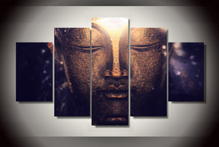 Buddha Unframed Wall Art Canvas Lishopi