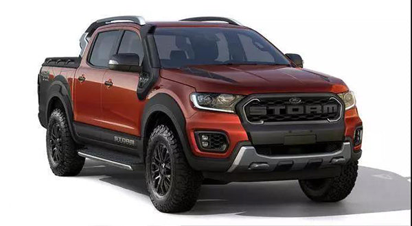 Exterior parts optimization Ford Ranger Storm concept car debut at the Sao Paulo Auto Show
