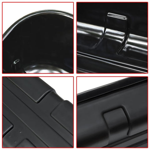 2015-2018 Ford F150 Glossy Black Under Seat Storage Box
