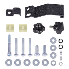 Jeep Wrangler JK Textured Black Jack Mount - Exterior Auto Parts - Motorshive