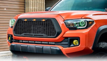 2016-2018 Toyota Tacoma Mesh Style Front Grille - Motorshive Exterior Auto Parts