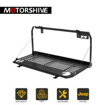 2018 Jeep Wrangler JL Tailgate Table - Exterior Auto Parts - Motorshive