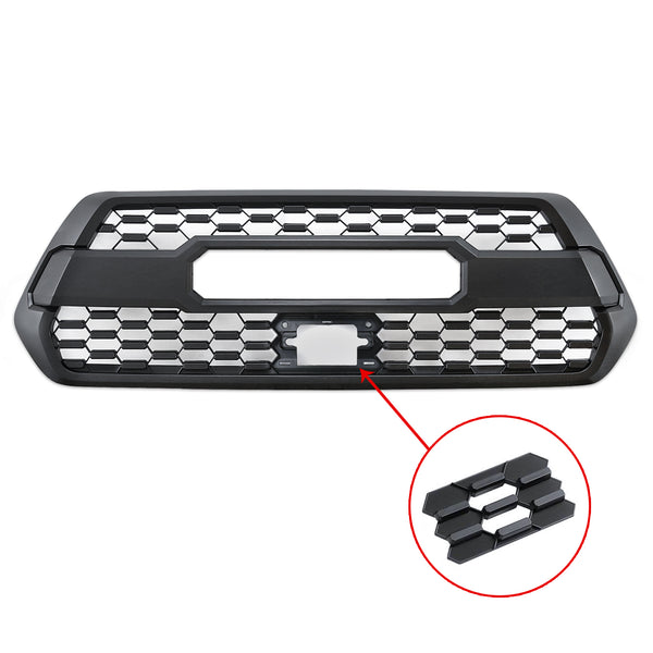 Black Front Grill for Toyota Tacoma 2016-2017