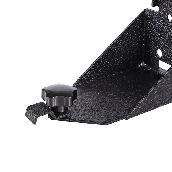 Jeep Wrangler JK Textured Black Jack Mount