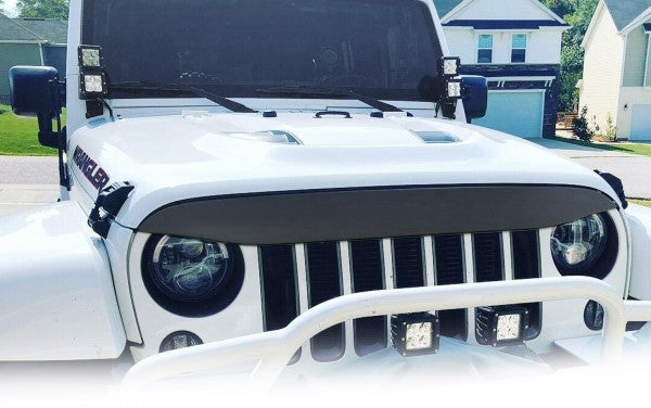 Nighthawk Light Brow for Jeep Wrangler 2007-2017 - Exterior Auto Parts