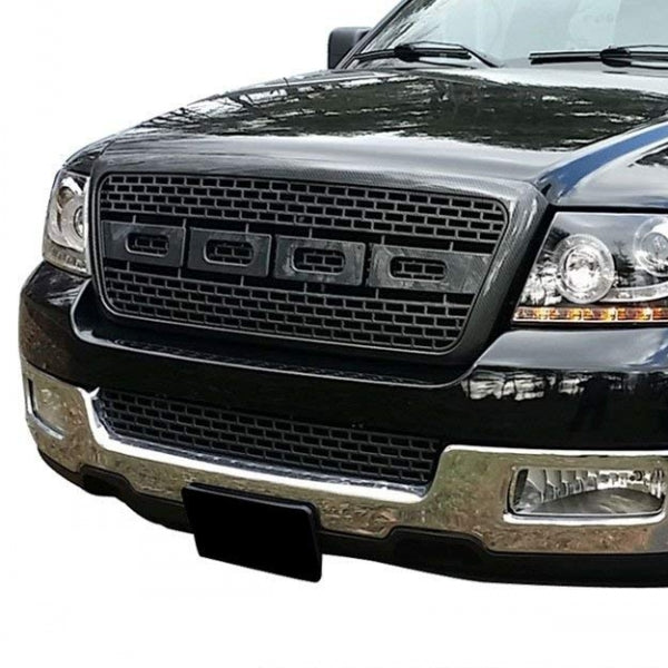 Raptor Type Glossy Black Grill for Ford - Exterior Auto Parts - Motorshive