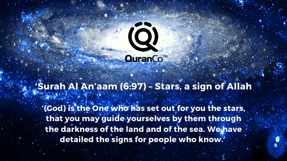 11 Amazing Ayaats in Quran which mention Stars