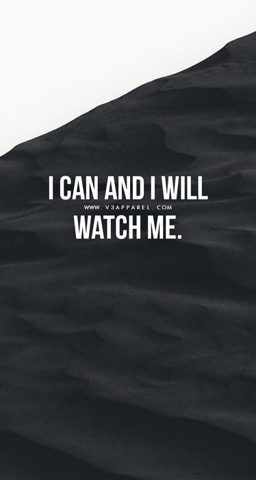 i can i will watch me