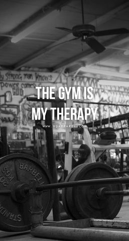 The gym is my theropy